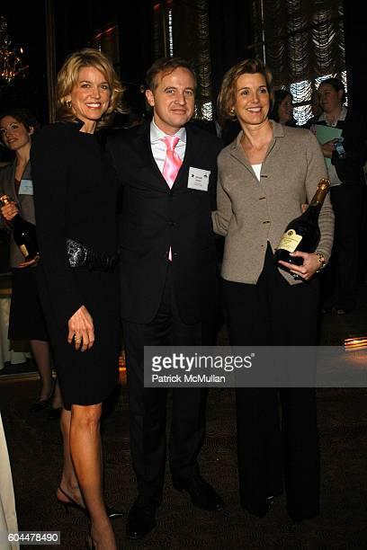 Paula Zahn Jerome Jeandin and Sallie Krawcheck attend CITYMEALSONWHEELS Power Lunch at Rainbow Room on November 17 2006 in New York City