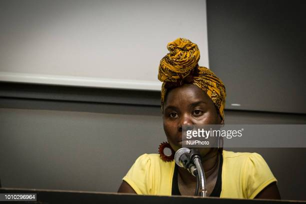 Paule Yao during the Baobab Experience the association that assists and supports homeless migrants in Rome denounced Interior Minister Matteo Salvini...