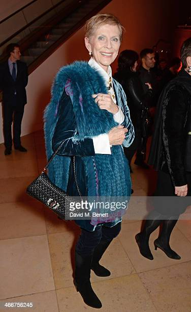 Paulene Stone attends a private view of Bailey's Stardust a exhibition of images by David Bailey supported by Hugo Boss at the National Portrait...