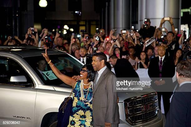 Pauletta Pearson Washington and Actor Denzel Washington attend 'The Equalizer' premiere during the 2014 Toronto International Film Festival