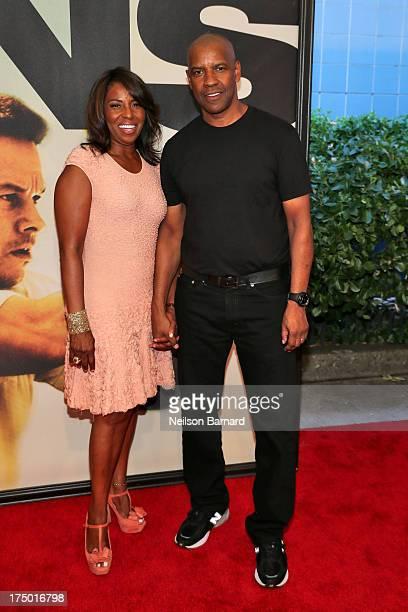 "Pauletta Washington and Denzel Washington attend ""2 Guns"" New York Premiere at SVA Theater on July 29, 2013 in New York City."