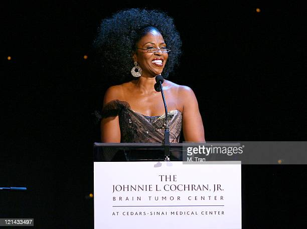Pauletta Washington during Johnnie L. Cochran, Jr. Brain Tumor Center Opening Gala - Inside at The Beverly Wilshire Hotel in Beverly Hills,...