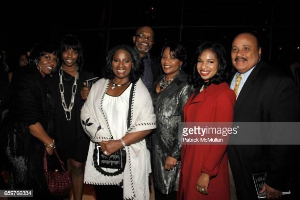 Pauletta Washington Olivia Washington Tanya Jackson Samuel L Jackson Bernice King Andrea King and Martin Luther King III attend This Is Tisch Gala...