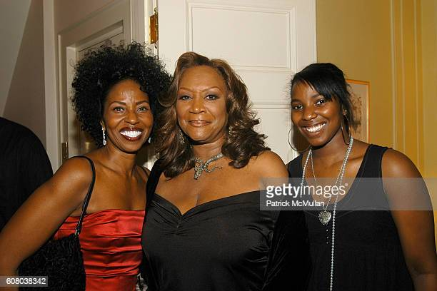 Pauletta Washington Patti LaBelle and Olivia Washington attend RICHARD TURLEY Birthday Dinner at The Home of YueSai Kan on December 21 2006 in New...