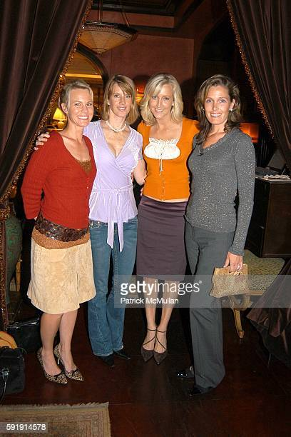 Paulette Marshall Julianne Shirley Lara Spencer and Elizabeth Barth attend Good Night and Good Luck Screening at MGM Screening Room on October 6 2005...