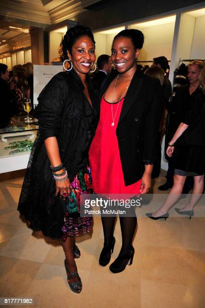 Paulette Washington and Olivia Washington attend Kick Off Celebration in Honor of the Silver Hill Hospital Gala 80th Anniversary at Dennis Basso NYC...