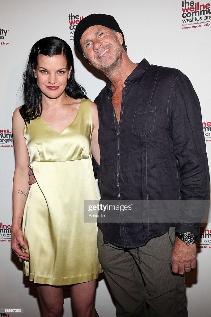 Pauley Perrette and Chad Smith attend the 12th Annual 'Tribute To Human Spirit' Awards Gala at Beverly Hills Hotel on May 6, 2010 in Beverly Hills, California.