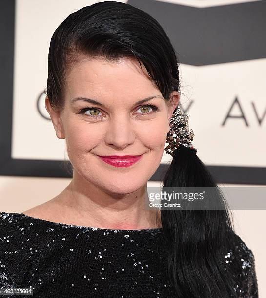 Pauley Perrette arrives at the The 57th Annual GRAMMY Awards on February 8 2015 in Los Angeles California