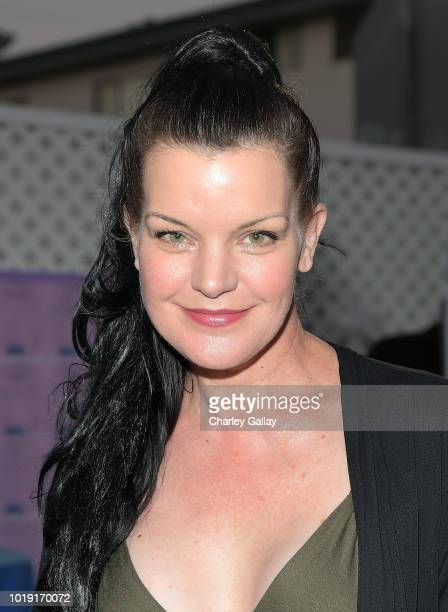 Pauley Perrette attends Project Angel Food's 2018 Angel Awards on August 18 2018 in Hollywood California