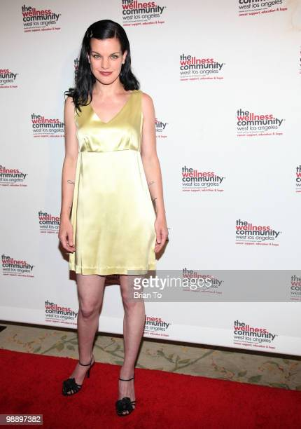 Pauley Perrette attends the 12th Annual Tribute To Human Spirit Awards Gala at Beverly Hills Hotel on May 6 2010 in Beverly Hills California