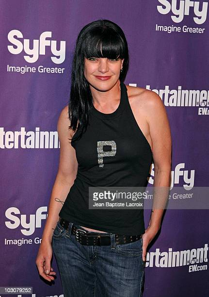 Pauley Perrette attends the EW and SyFy party during Comic-Con 2010 at Hotel Solamar on July 24, 2010 in San Diego, California.
