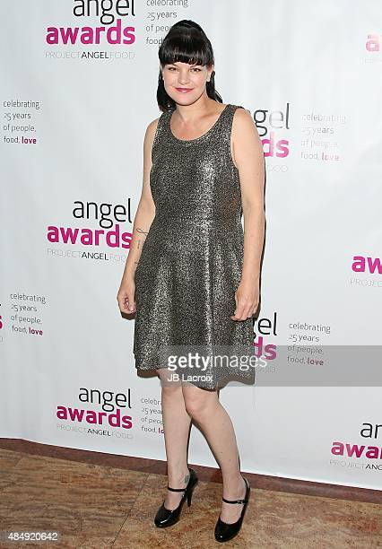 Pauley Perrette attends the Project Angel Food's 25th Angel awards gala held at Taglyan Cultural Complex on August 22 2015 in Hollywood California
