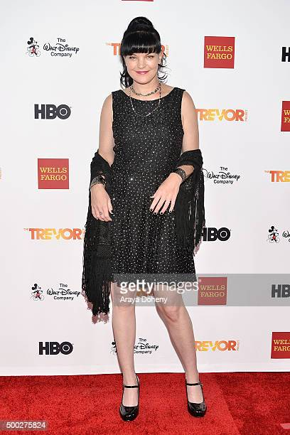 Pauley Perrette attends the TrevorLIVE LA 2015 event at Hollywood Palladium on December 6 2015 in Los Angeles California