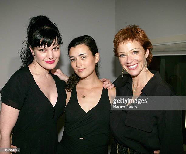 Pauley Perrette Cote de Pablo and Lauren Holly *Exclusive*
