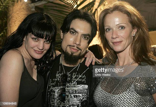 Pauley Perrette Dave Navarro and Lauren Holly during Belvedere Vodka Hosts the Second 'Rock Star INXS' Mansion Jam at Private Residence in Los...