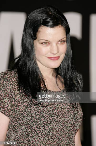 Pauley Perrette during 57th Annual ACE Eddie Awards Arrivals at Beverly Hilton Hotel in Beverly Hills California United States