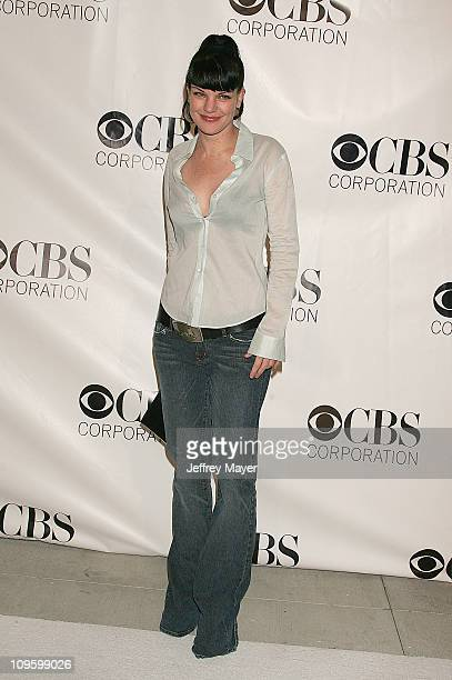 Pauley Perrette during CBS/Paramount/UPN/Showtime/King World 2006 TCA Winter Press Tour Party Arrivals at The Wind Tunnel in Pasadena California...
