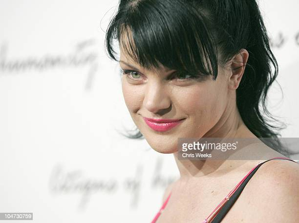 Pauley Perrette during Citizens of Humanity Celebrate Summer Red Carpet at The Roosevelt Hotel in Hollywood California United States