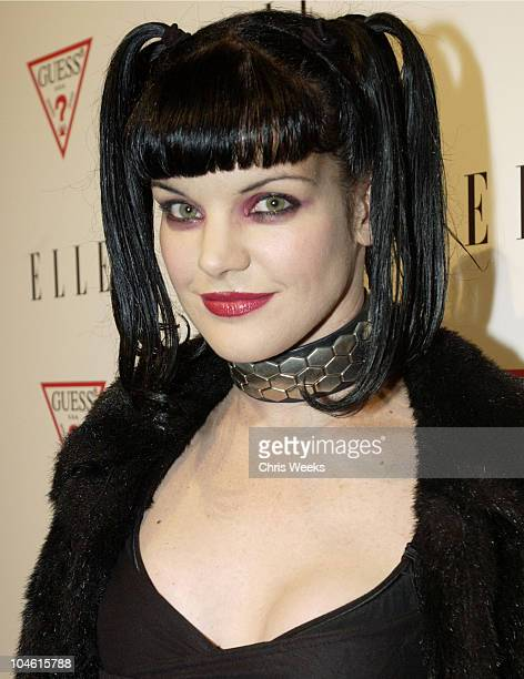 Pauley Perrette during Elle Magazine and GUESS Bring Las Vegas to Hollywood at Concorde in Hollywood California United States