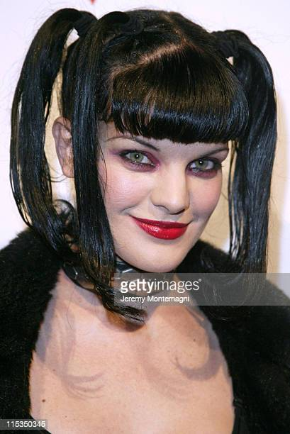 Pauley Perrette during Elle Magazine and GUESS Celebrate the Launch of the New GUESS Las Vegas Campaign at Concorde in Hollywood California United...