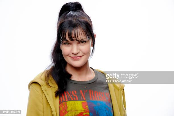 Pauley Perrette of the CBS comedy BROKE
