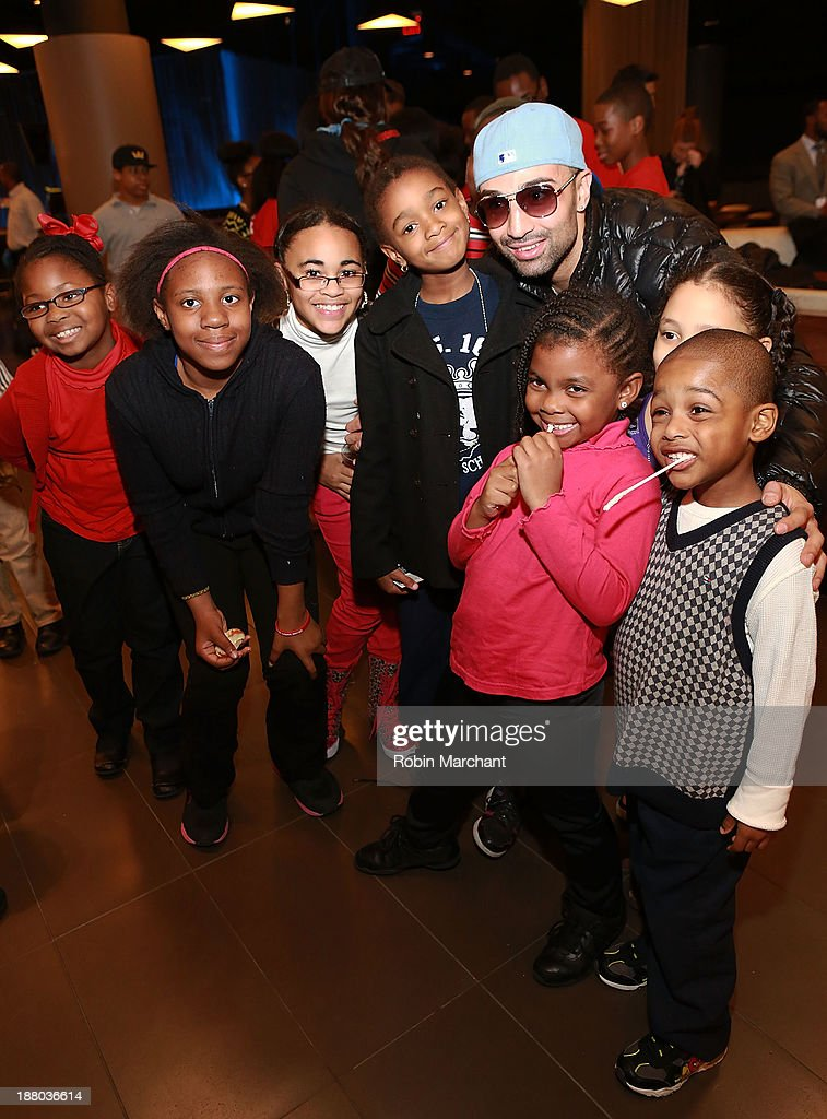 Barclays Center Hosts Thanksgiving Celebration For Brooklyn Students