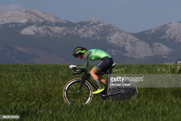 Paulien Rooijakkers of Netherlands and Waowdeals Pro Cycling Team during the 31st Women WT EmakumeenBira Stage 2 266km Individual Time Trial from...