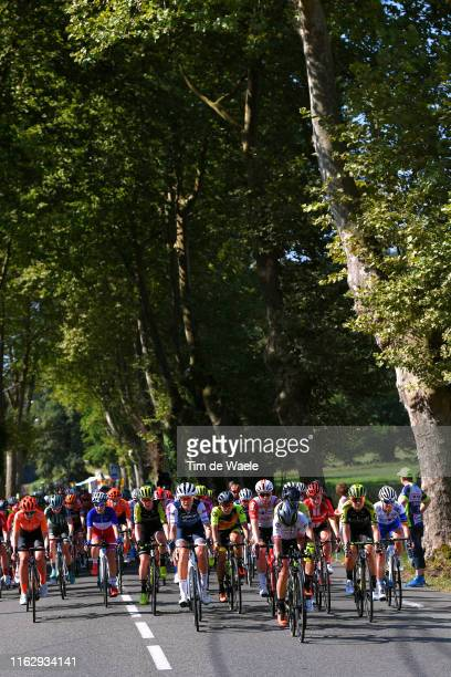 Paulien Rooijakkers of The Netherlands and Team CCC-Liv / Riejanne Markus of The Netherlands and Team CCC-Liv / Jessica Allen of Australia and Team...