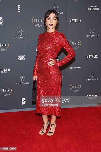 Paulina Davila attends Premio Iberoamericano de Cine Fenix 2015 at Teatro de La Ciudad on November 25 2015 in Mexico City Mexico