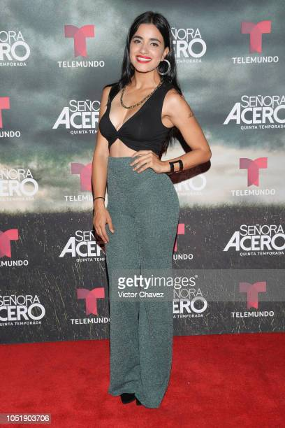 Paulina Gaitan attends the special screening of Telemundo tv series Senora Acero 5th season on October 10 2018 in Mexico City Mexico