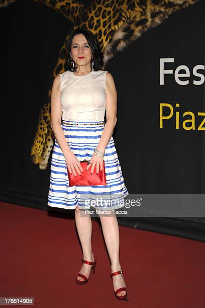 Paulina Garcia attend a photocall during the 66th Locarno Film Festival on August 14 2013 in Locarno Switzerland