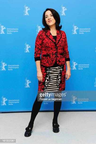 Paulina Garcia attends the 'Gloria' Photocall during the 63rd Berlinale International Film Festival at the Grand Hyatt Hotel on February 10 2013 in...