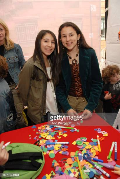 Paulina Gerzon and Hallie Kate Eisenberg during Kids for Kids 2007 The Elizabeth Glaser Pediatric AIDS Carnival at Industria Studios in New York City...