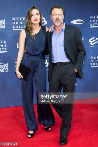 Paulina Koch and her father Sebastian Koch attend the premiere of the film 'Werk ohne Autor' at Zoo Palast on September 26 2018 in Berlin Germany