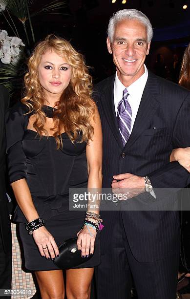Paulina Rubio and Charlie Crist attend the 15th Anniversary of The Blacks Annual Gala benefiting The Consequences Charity Project Medishare Educate...