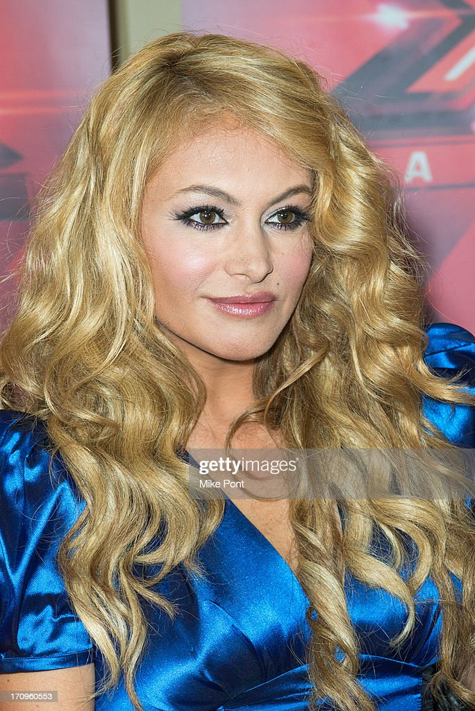 Paulina Rubio attends 'The X Factor' Judges press conference at Nassau Veterans Memorial Coliseum on June 20, 2013 in Uniondale, New York.