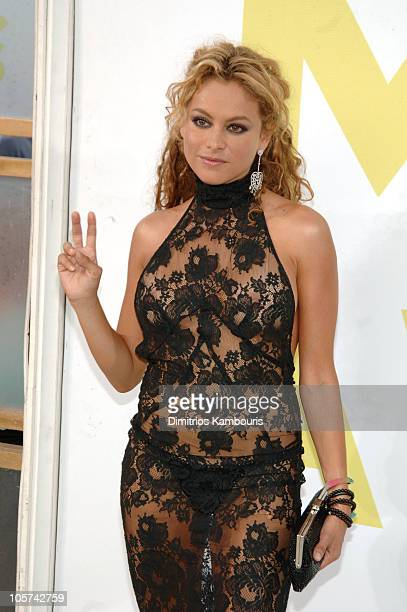 Paulina Rubio during 2005 MTV Video Music Awards Arrivals at American Airlines Arena in Miami Florida United States