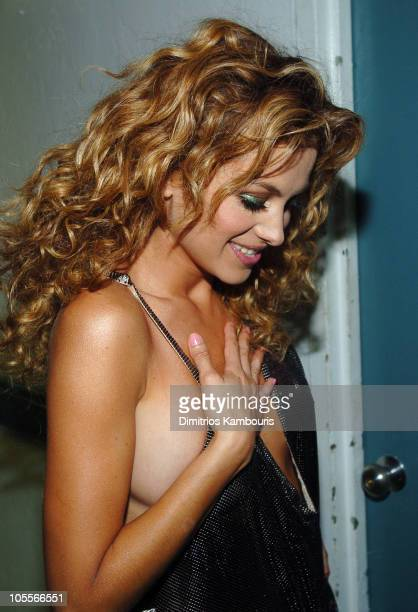 Paulina Rubio during MTV Video Music Awards Latin America 2004 Audience and Backstage at Jackie Gleason Theater in Miami Florida United States