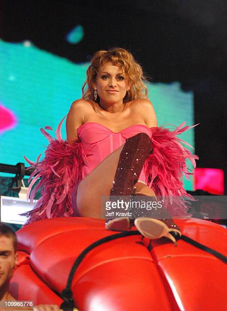 Paulina Rubio during MTV Video Music Awards Latin America 2004 Show at Jackie Gleason Theater in Miami Florida United States