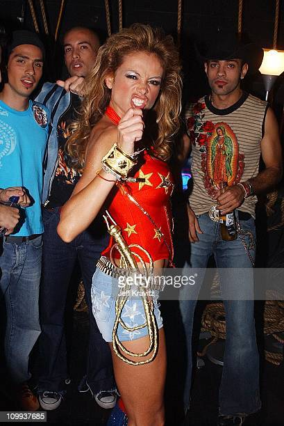 Paulina Rubio during MTV Video Music Awards Latinoamerica 2002 at Jackie Gleason Theater in Miami FL United States