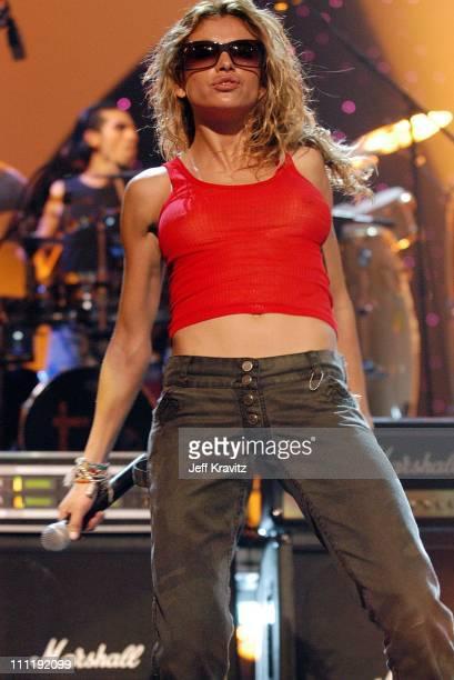 Paulina Rubio during MTV Video Music Awards Latinoamerica 2002 Rehearsals Day 3 at Jackie Gleason Theater in Miami FL United States