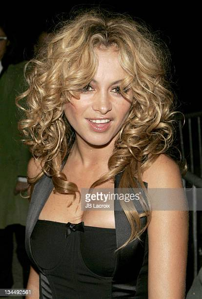 Paulina Rubio during Paris Fashion Week Pret a Porter Spring/Summer 2006 Christian Dior Arrivals at Grand Palais in Paris France