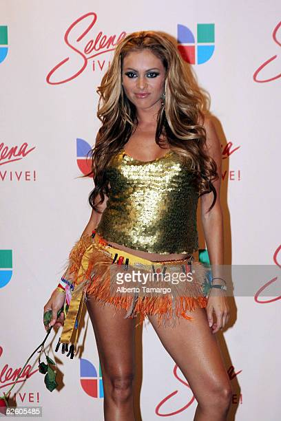 paulina rubio selena stock photos and pictures getty images