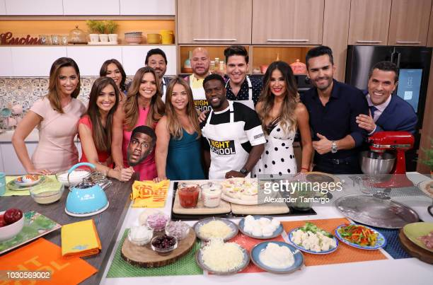 Paulina Sodi Erika Csiszer Janice Bencosme Rashel Diaz Al Madrigal Adamari Lopez Fat Joe Kevin Hart Chef James Catherine Siachoque Fabian Rios and...