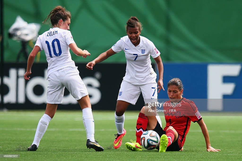 England v Mexico: Group C - FIFA U-20 Women's World Cup Canada 2014