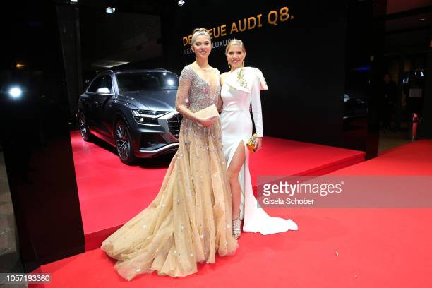 Paulina Swarovski and her sister Victoria Swarovski during the 25th Opera Gala at Deutsche Oper Berlin on November 3, 2018 in Berlin, Germany.