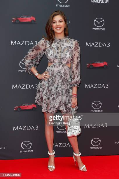 Paulina Swarovski attends the Mazda Spring Cocktail at Sony Centre on May 23, 2019 in Berlin, Germany.