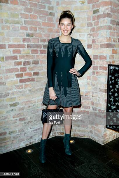 Paulina Swarovski during the Bunte New Faces Night at Grace Hotel Zoo on January 15, 2018 in Berlin, Germany.