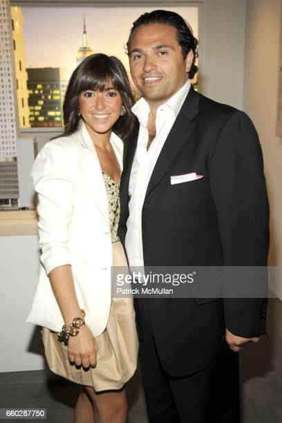 Pauline Assa and Solly Assa attend Preview Cocktail Party for the Launch of CASSA Designed by ENRIQUE NORTEN at CASSA Showroom on June 8, 2009 in New...