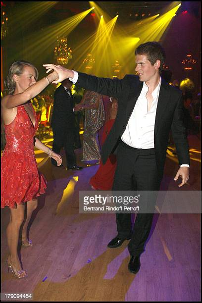 Pauline Blassel and Alexandre Desseigne at 12th Annual Grand Bal De Deauville Organised By Christian Dior And Lucien Barriere